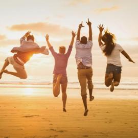 Increíbles tips para ser feliz desde la opinión de expertos en salud mental.